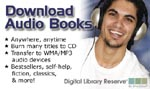 Download digital Audio Books from the Library!