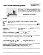 Click here for the library's employment application