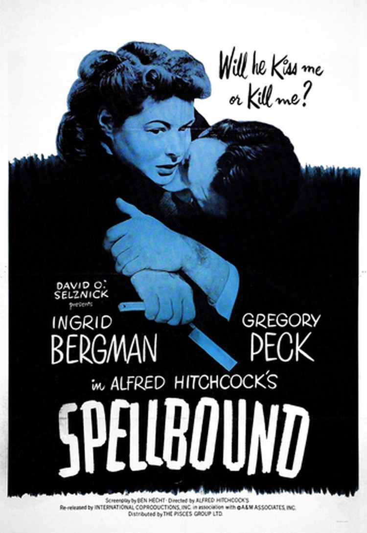 Psyched! Presents: Spellbound by Alfred Hitchcock