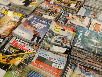 Magazine Sale at East Brunswick Public Library