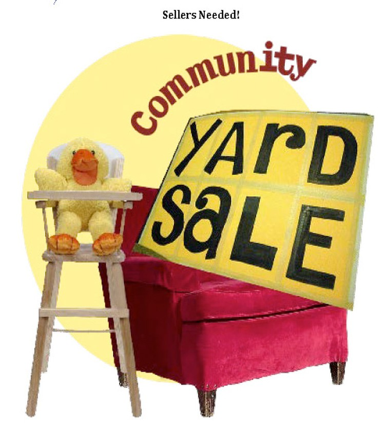 Community Yard Sale This Saturday