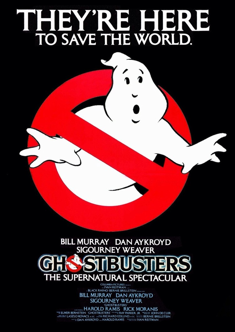 See the Original Ghostbusters (1984) Movie Tonight!