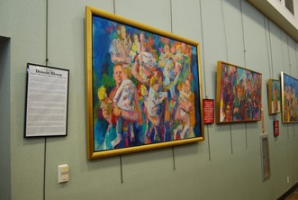 East Brunswick Public Library Showcases the Art of Don Bloom
