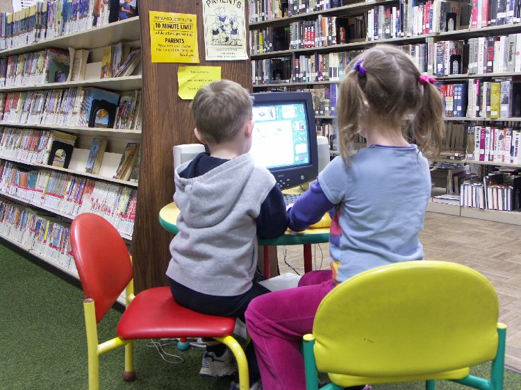 Library Computers for Kids