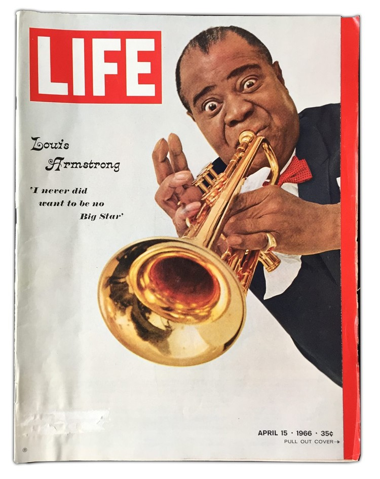 Louis Armstrong Talk @ EBPL
