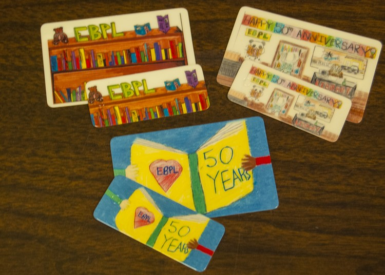 EBPL Reveals Library Card Contest Winners