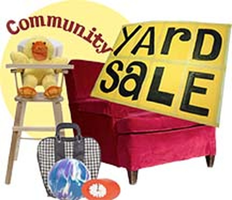 Friends Of The Library Community Yard Sale