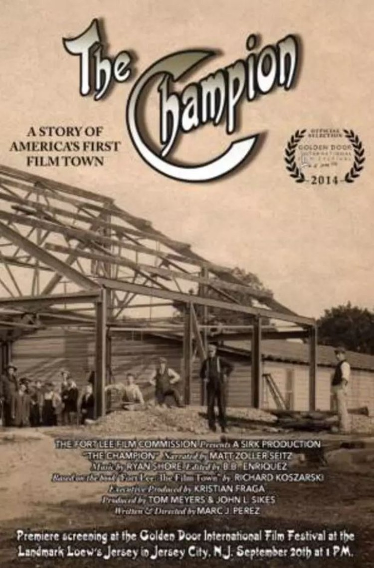Screening Tonight: The Champion: A Story of America's First Film Town
