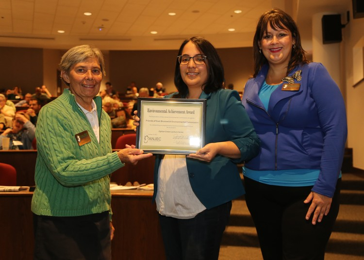 East Brunswick Public Library Wins Award For Option Green Program Series