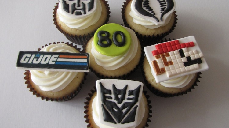 Registration Open: Tuesday's 80s Cupcake Decorating for 13+