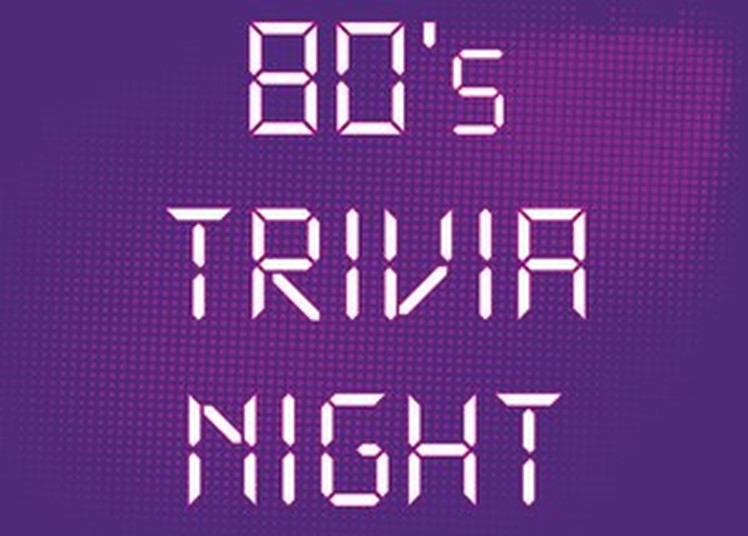 1980s Trivia Night Wednesday