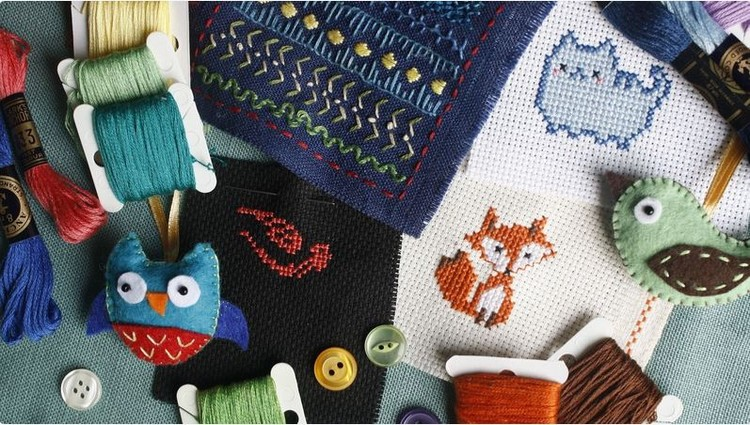 Needlepoint Club Tuesday