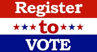 Voter Registration Drive Today