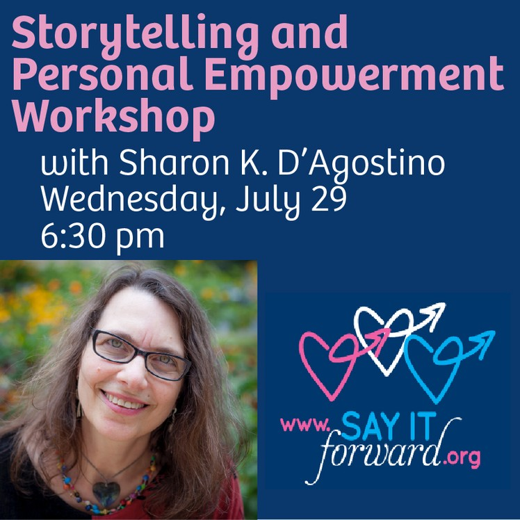 Storytelling & Personal Empowerment Workshop Wednesday
