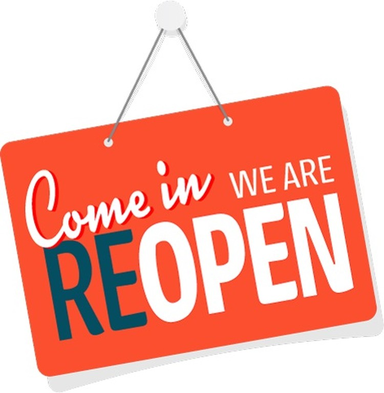 We've Re-Opened!