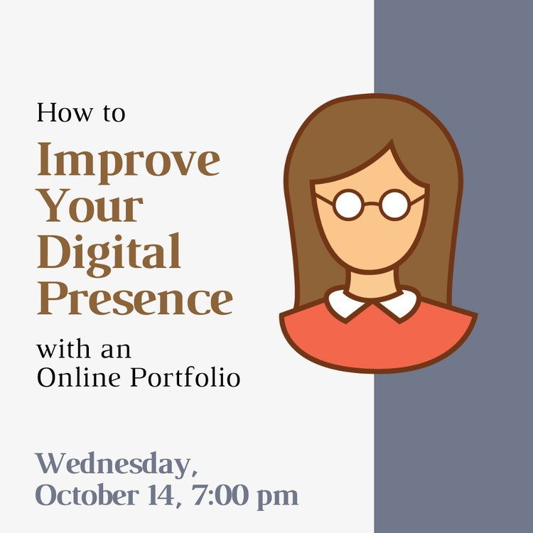 Learn to Make an Online Portfolio Wednesday