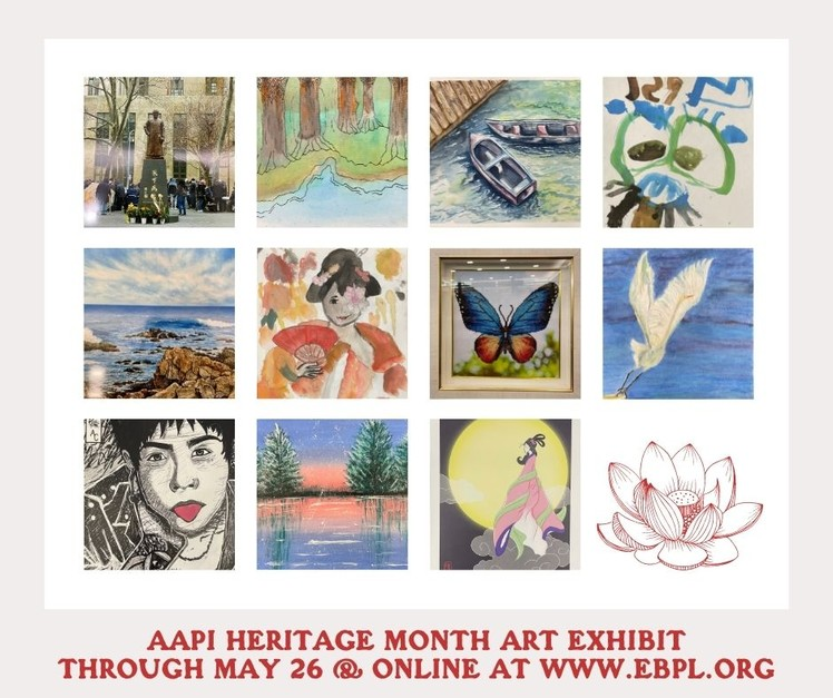AAPI Heritage Month Art Exhibit through May 27