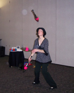 Juggling Fun at the Library