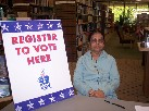 Register to Vote at The Librar :: Click to see a larger version