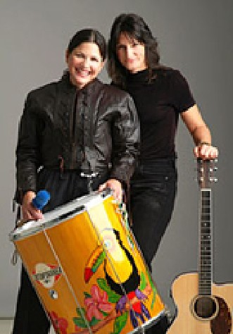 World Beat Duo Virago! to Perform at the Library