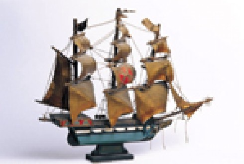 The Library Hosts Historically Accurate Scale Ship Modeling Lecture and Demonstration