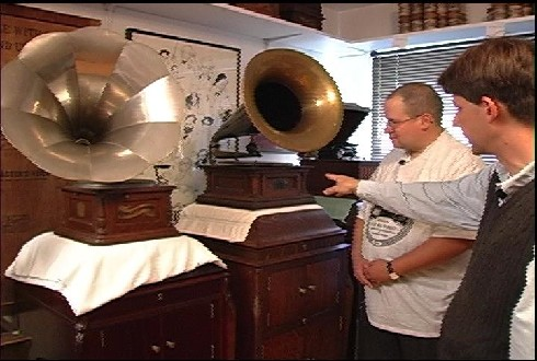 Antique Phonographs this month on