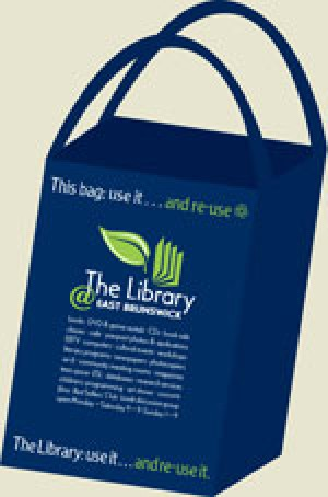 It's Easy Being Green! The Library Introduces Eco-Friendly Bags