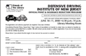 Register Now for a Defensive Driving Course to be held on December 17 & 18