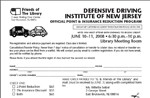 Register Now for a Defensive Driving Course to be held on February 10 & 11