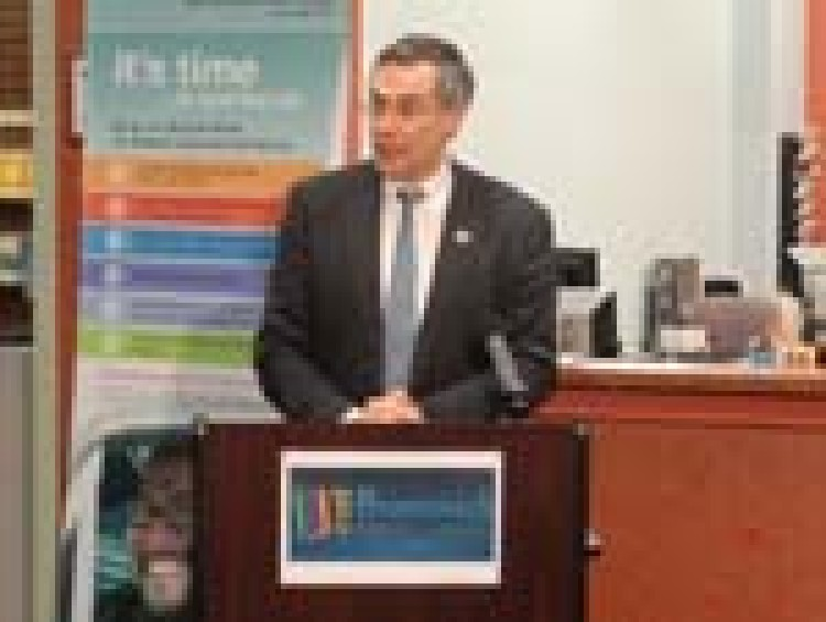 U.S. Rep. Rush Holt Applauds the Work of the Business Resource Center@ East Brunswick Public Library