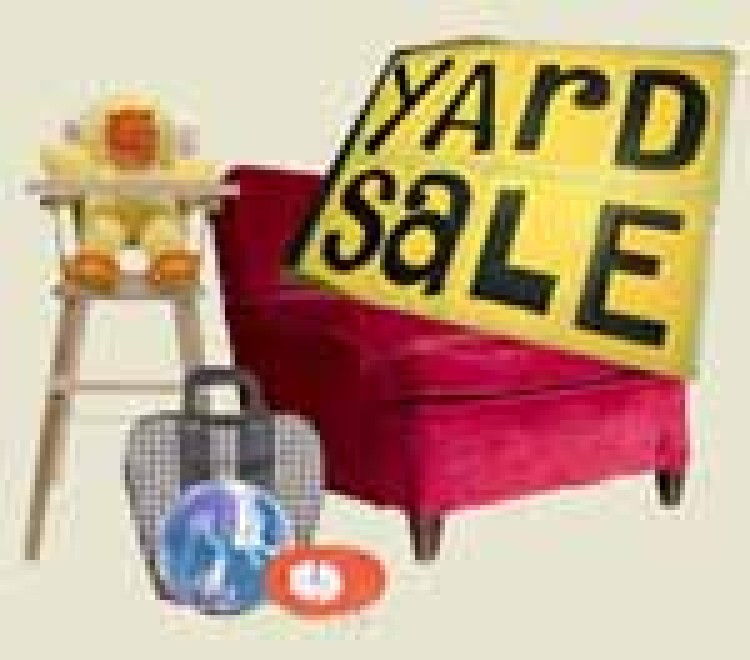 Get Great Bargains at the Community Yard Sale