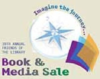 Save the Date for the Friends of the Library Bargain Book and Media Sale