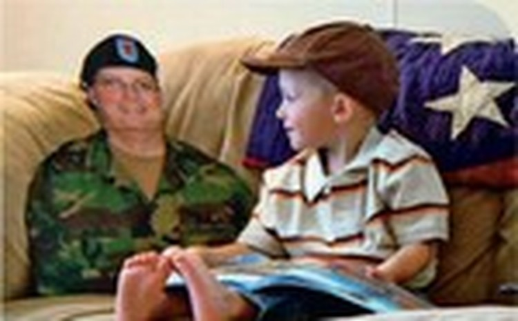 Friends Fall Meeting: Flat Daddy -- Behind Every Soldier is a Family