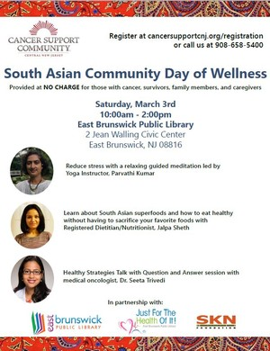 South Asian Day of Wellness